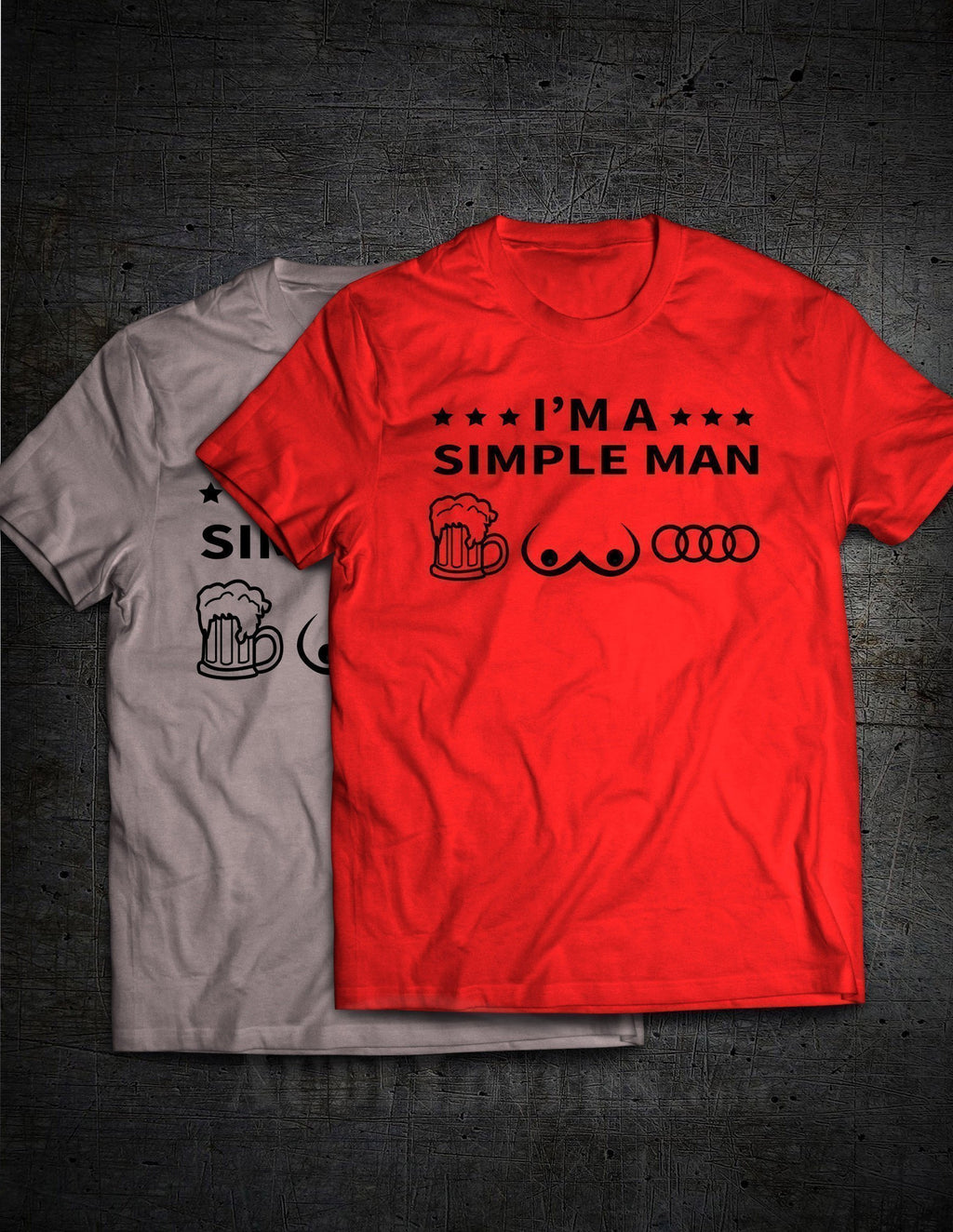 'I am a Simple Man' Premium Tee