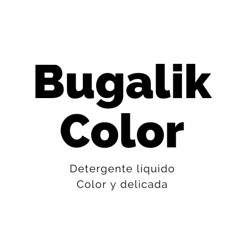 Detergente color y delicada - Bugalik Color