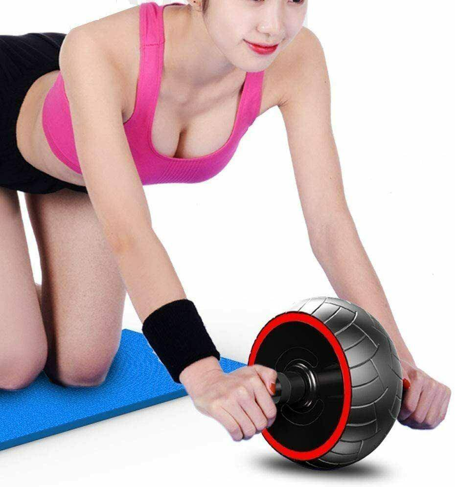 Wheel Core Fitness Muscle Trainer Ab Roller