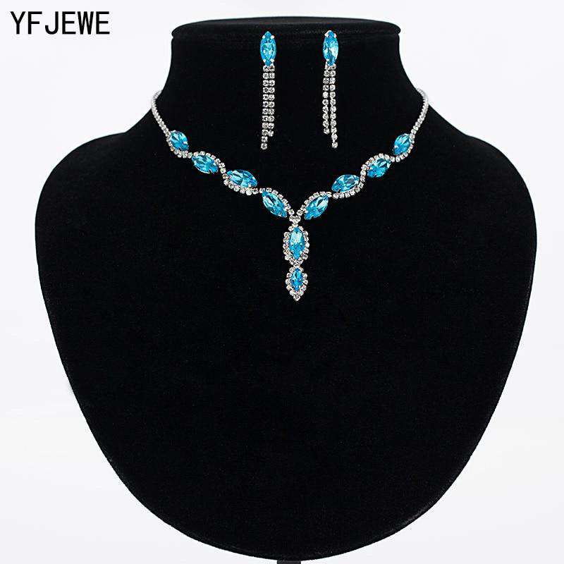 Luxury Austria Crystal Jewelry Sets