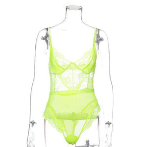 Yimunancy Mesh Bodysuit - fashiontweaks.com