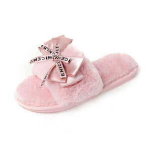 Women Plush  Home Slippers - fashiontweaks.com