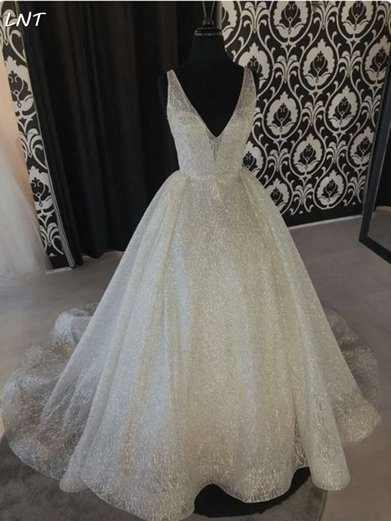 Sparkle Glitter Wedding Dresses - fashiontweaks.com