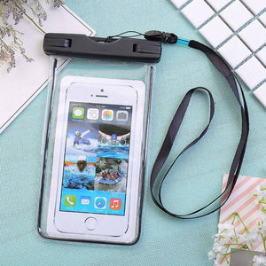 Universal Waterproof Phone Pouch For Cellphone - 2 Pack