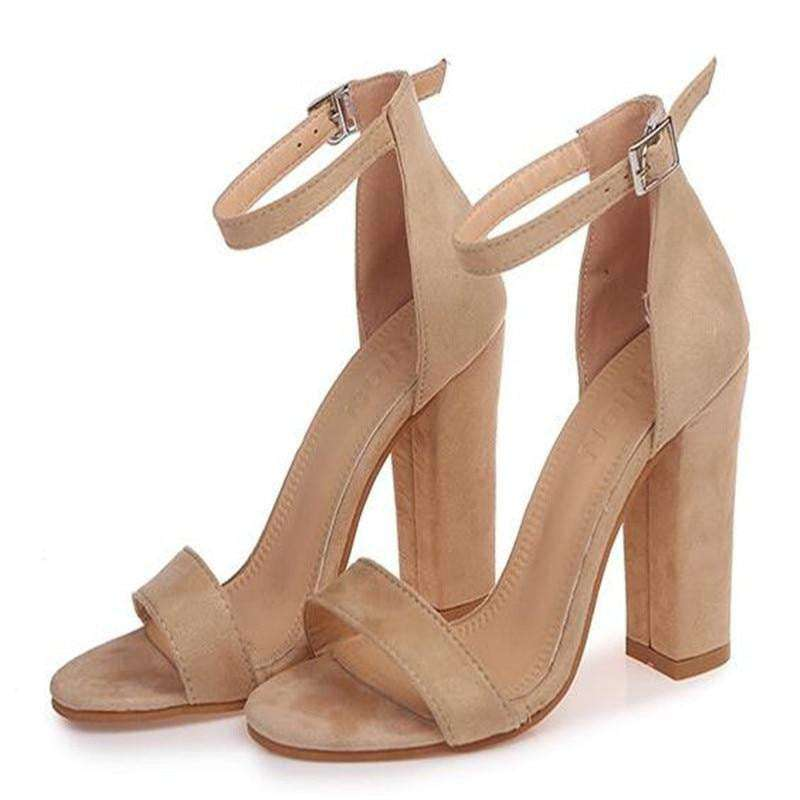 Fashion Ankle Strap Women Casual Sandals - fashiontweaks.com