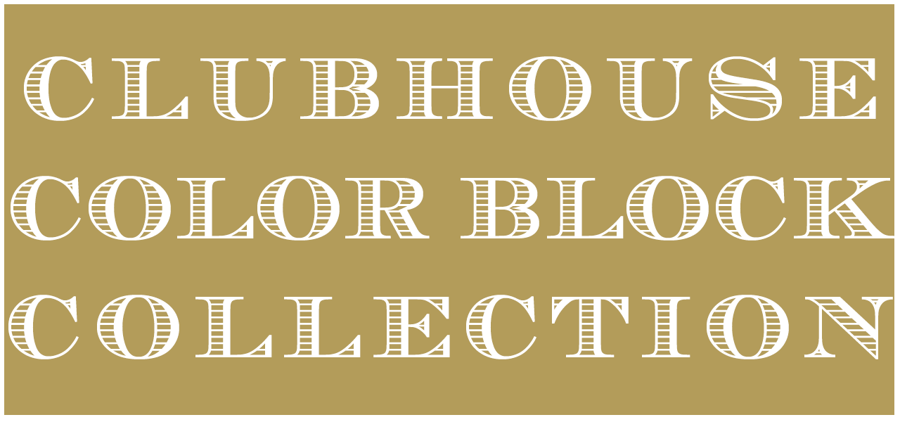 The Well To Do Review: A Beaufort Bonnet Publication // Spring 2017 Feature: Clubhouse Color Block Collection