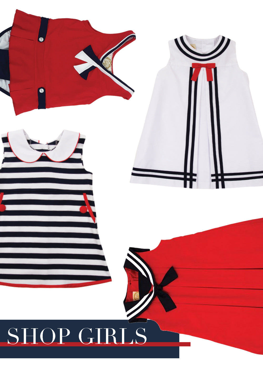 Girls Nautical Outfits for Spring