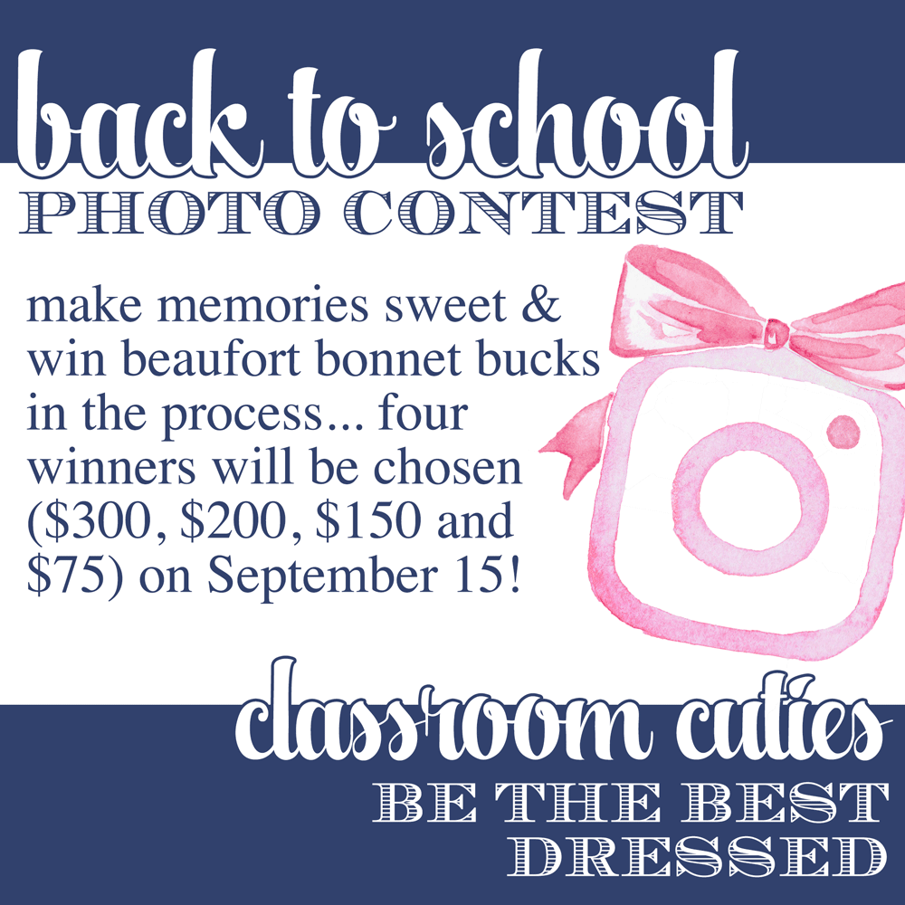 T.B.B.C. Back to School Photo Contest // #tbbcbacktoschool