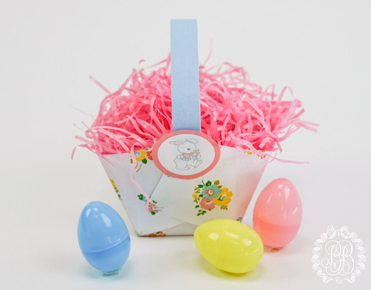 Printable Do It Yourself Easter Basket // The Beaufort Bonnet Company
