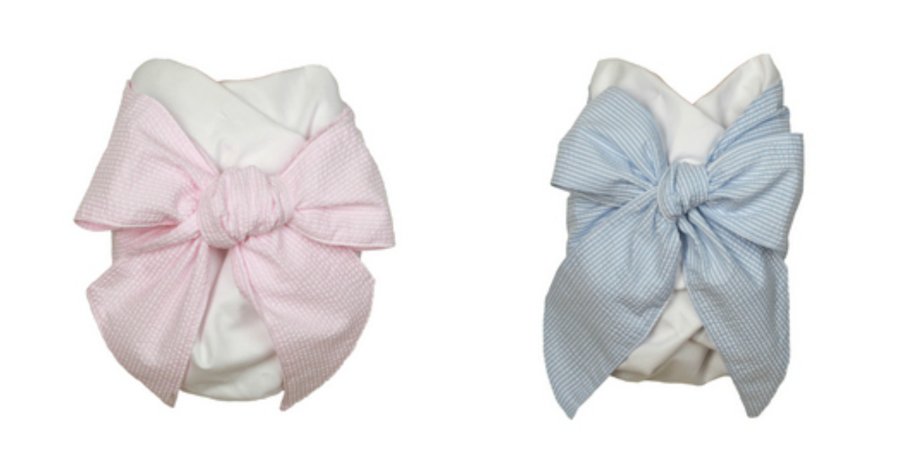 Christening Swaddle Bows