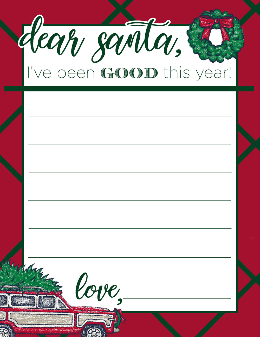 Dear Santa... // The Beaufort Bonnet Company | The Well To Do Review
