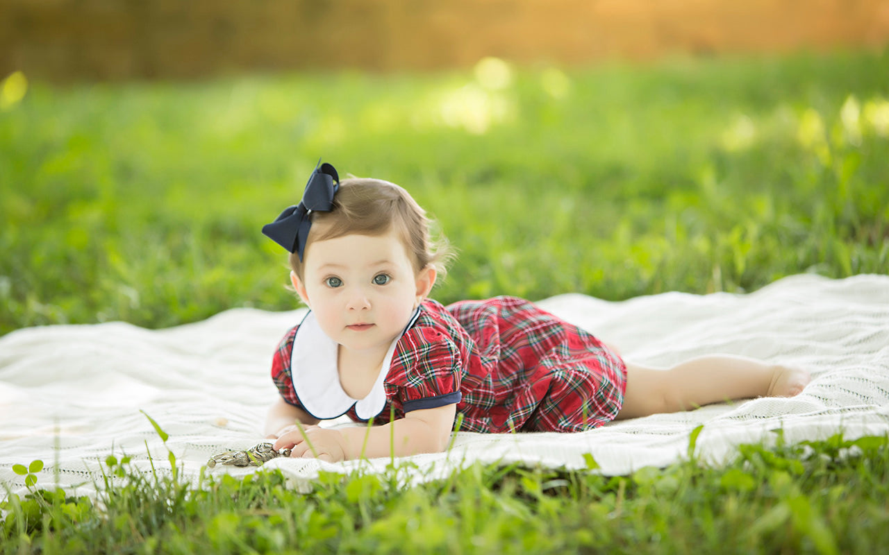Dixie's Dancing Dress - Highland Holly Plaid