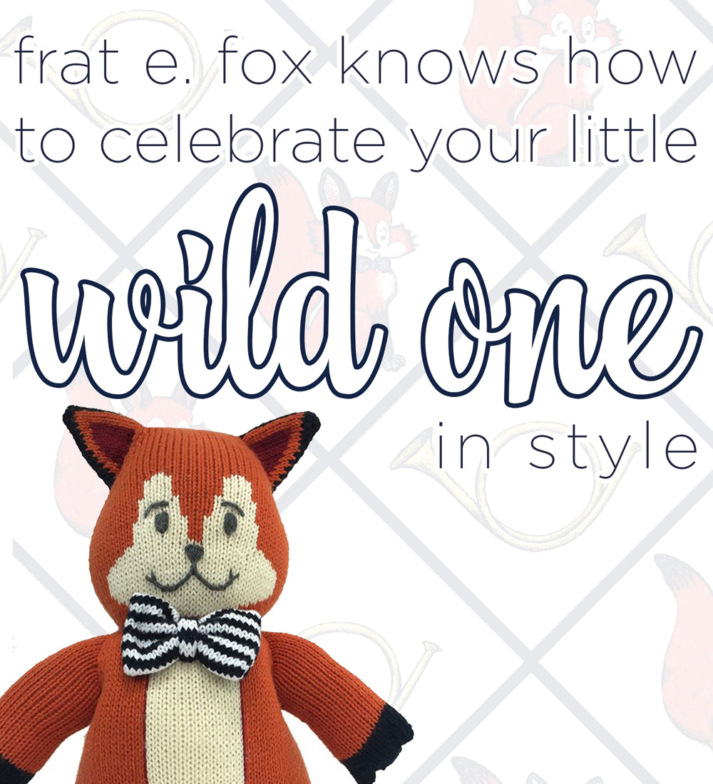 You're Invited: Frat E. Fox 'Wild One' | The Beaufort Bonnet Company birthday parties