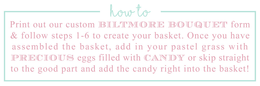 Printable Easter Basket // The Beaufort Bonnet Company
