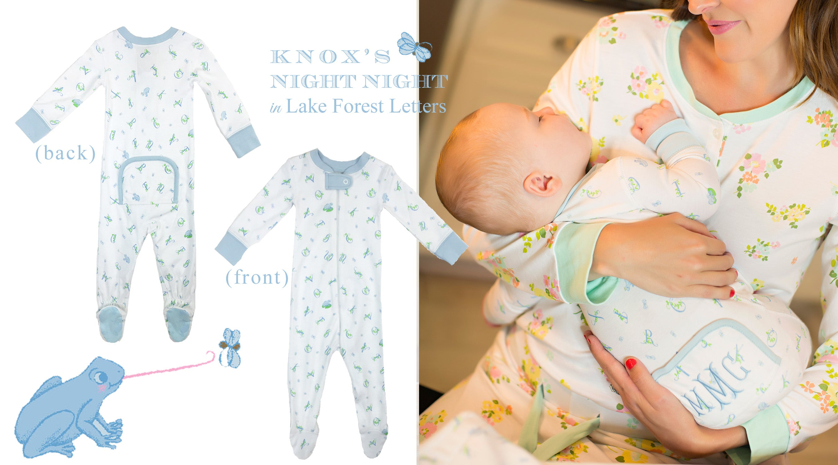Knox's Night Night in Lake Forest Letters