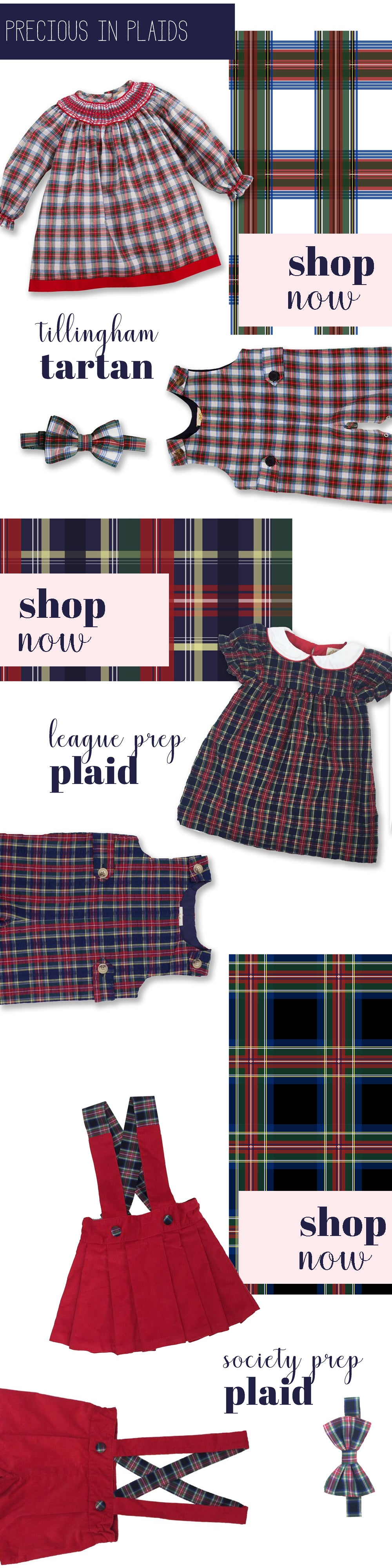 The Beaufort Bonnet Company Christmas 2017 Gift Guides | For Brother and Sister featuring plaid