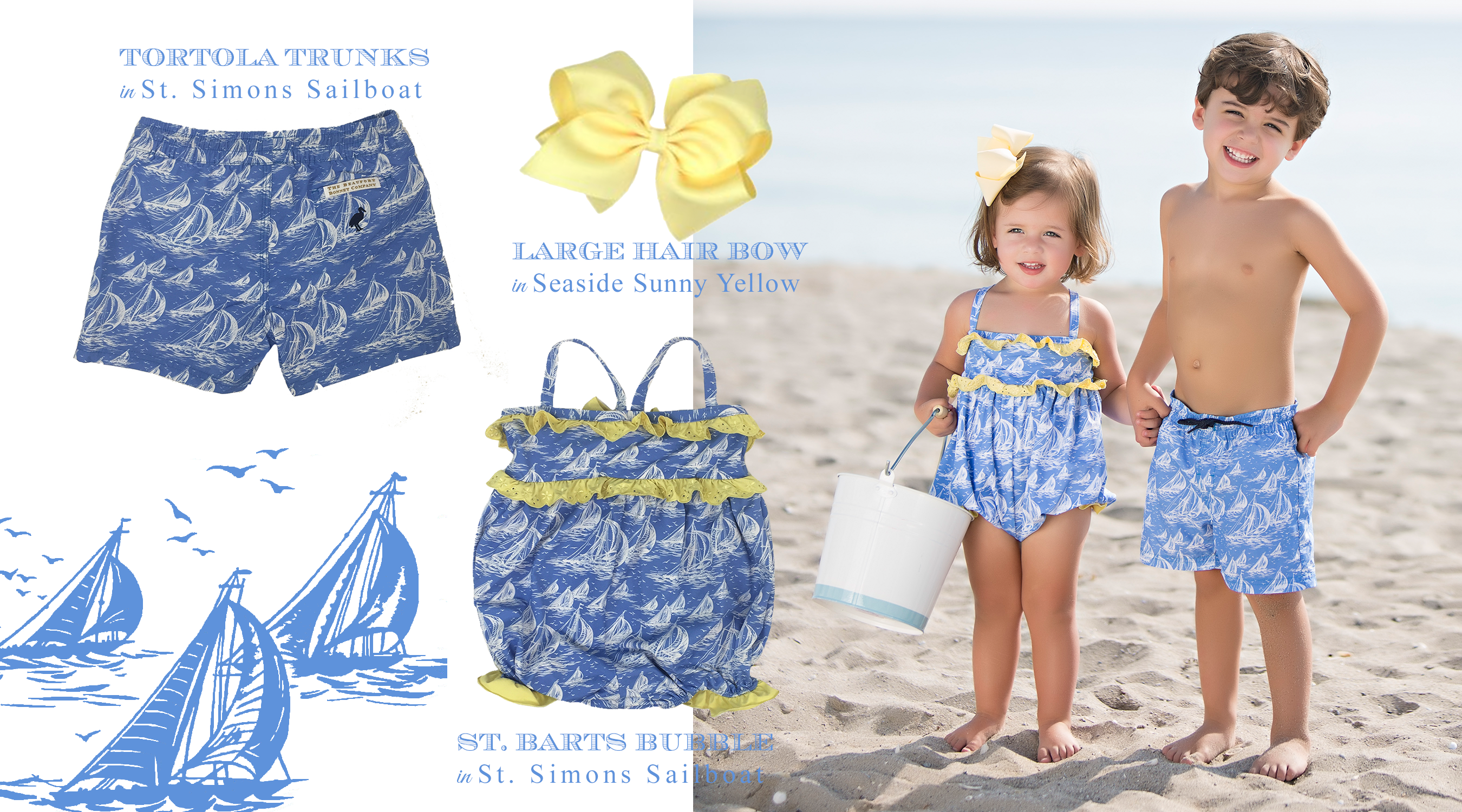 St. Simons Sailboat Swimwear