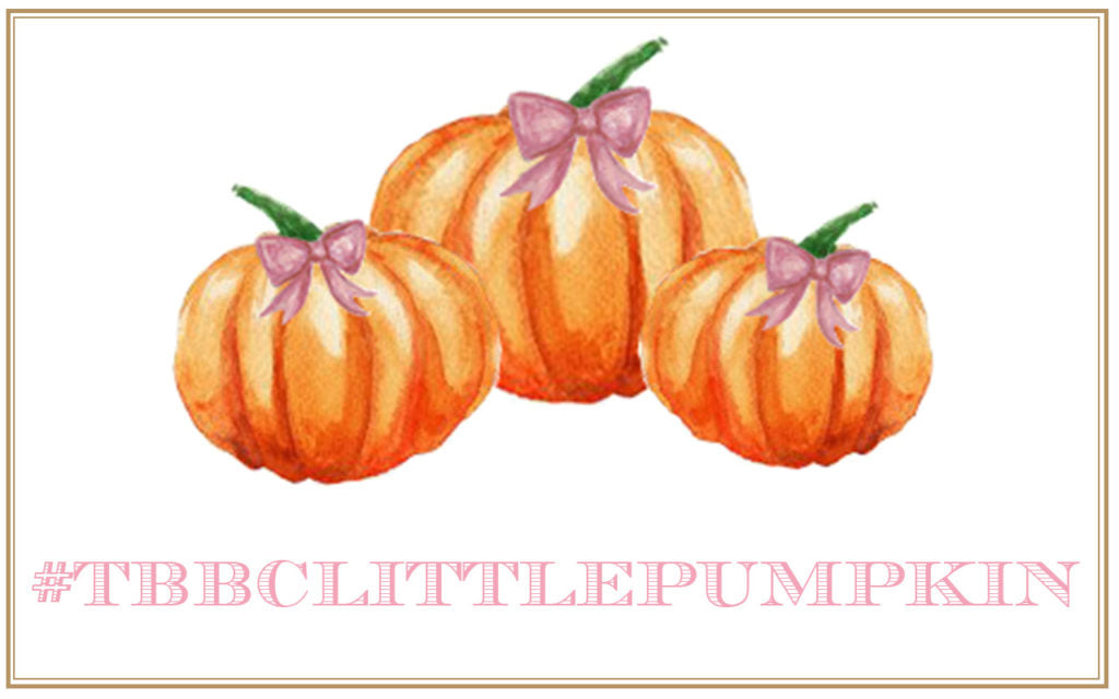 Friday Feature: T.B.B.C. Little Pumpkin Contest