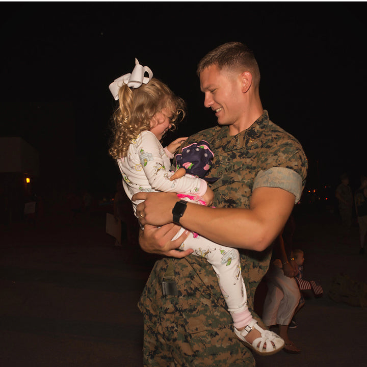 T.B.B.C. // Thank you to all the men and women who keep us and our babies safe