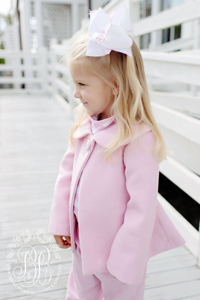 Sadie Swing Coat - Palm Beach Pink
