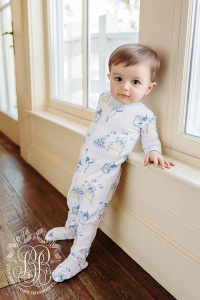 Sutton's Sweet Dream Set - Counting Sheep with Buckhead Blue