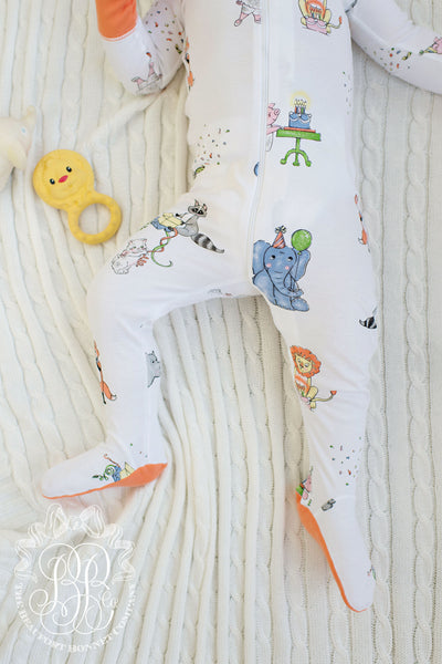 Sutton's Sweet Dream Set - Party Animals in Tega Cay Tangerine