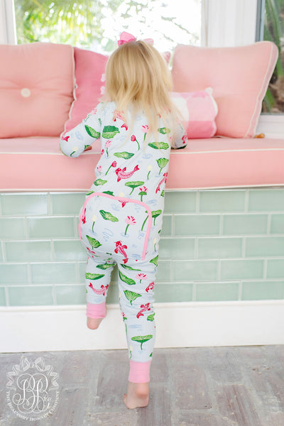 Noelle's Night Night - Cute & Koi with Hamptons Hot Pink