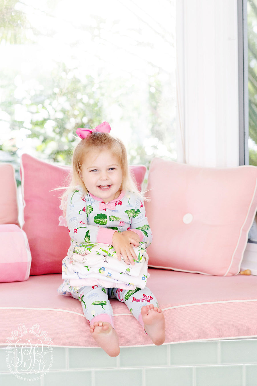 Sara Jane's Sweet Dream Set - Cute & Koi with Hamptons Hot Pink