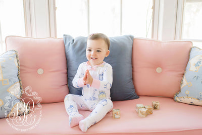 Sara Jane's Sweet Dream Set - Counting Sheep with Sandpearl Pink