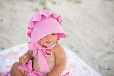 Beaufort Bonnet - Hamptons Hot Pink