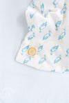 Beddie Bye Sleep Sack - Sir Proper Stork with Buckhead Blue