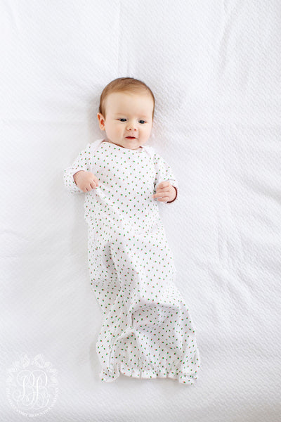 Adorable Everyday Gown - Port Royal Rosebud with Plantation Pink