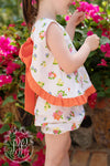 Susy Swing Top Set - New Canaan Cluster with Tega Cay Tangerine