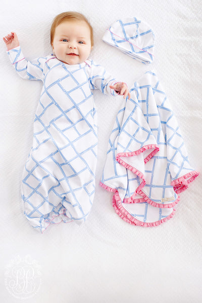 Adorable Everyday Set - Bamboo Proverbs with Hamptons Hot Pink