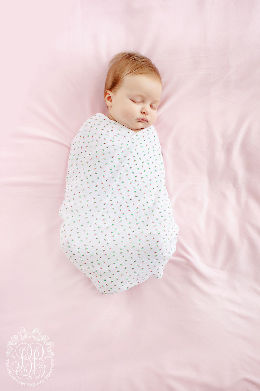 Silent Night Swaddle - Port Royal Rosebud