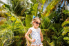 Sandy Lane Swimsuit - Bamboo Proverbs with Worth Avenue White