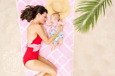 A La Mer Momtini - Royal Palm Raspberry with Hamptons Hot Pink