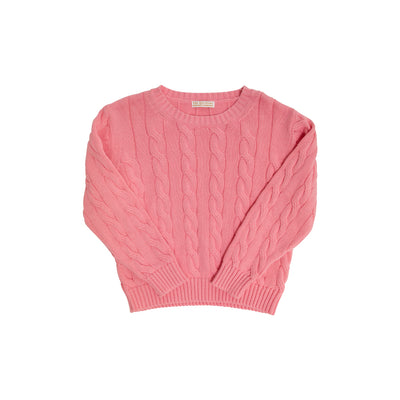 Crawford Crewneck - Hamptons Hot Pink