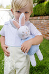 Cannon Colorblock Jon Jon - Worth Avenue White with Yellow and Bunny Applique