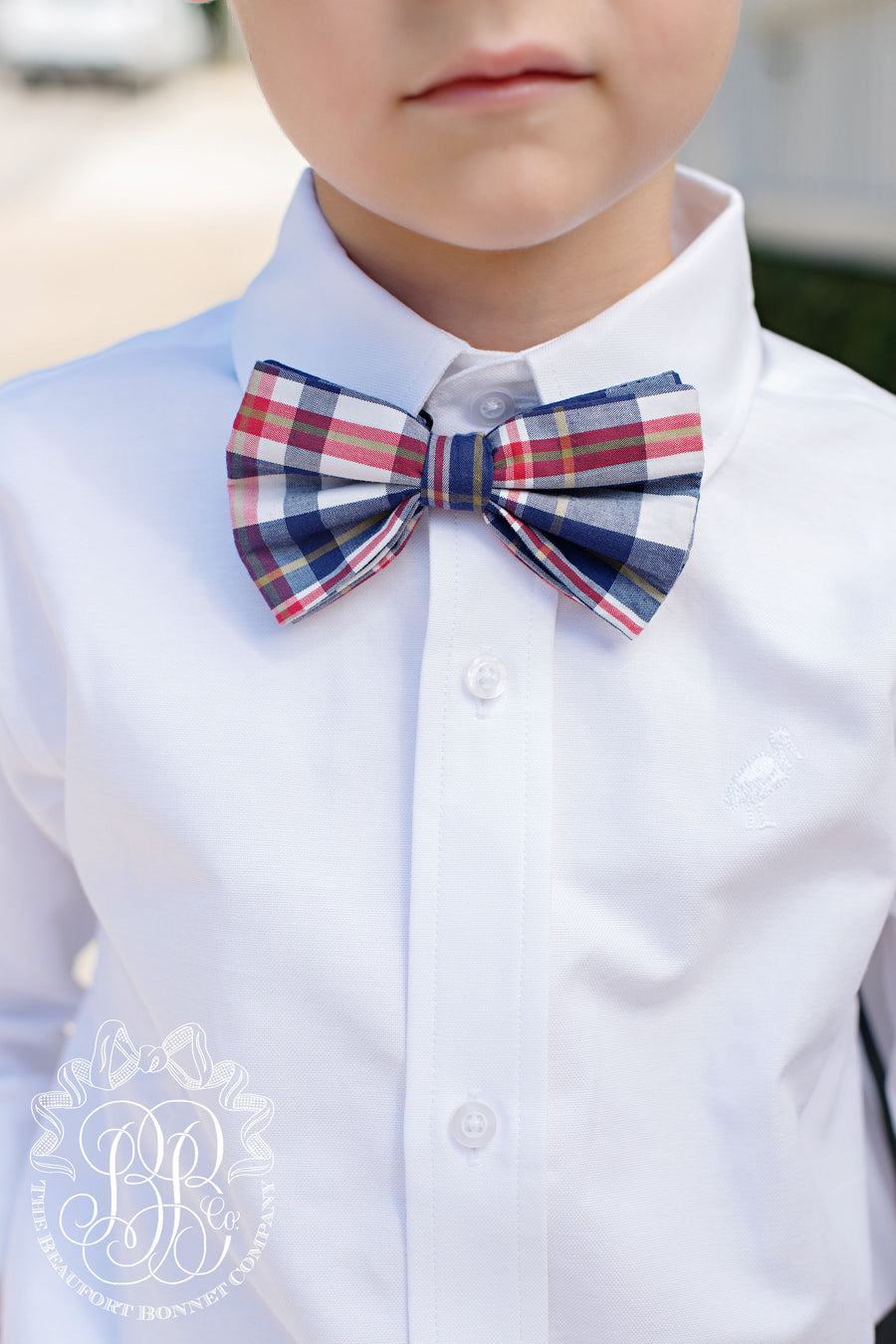 Baylor Bow Tie - Planters Inn Plaid