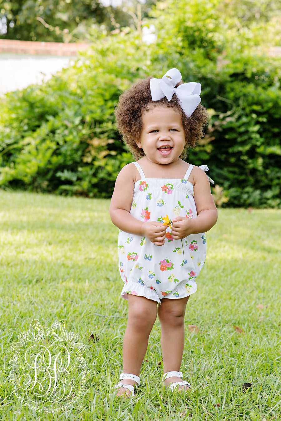 Rosey Romper - New Canaan Cluster