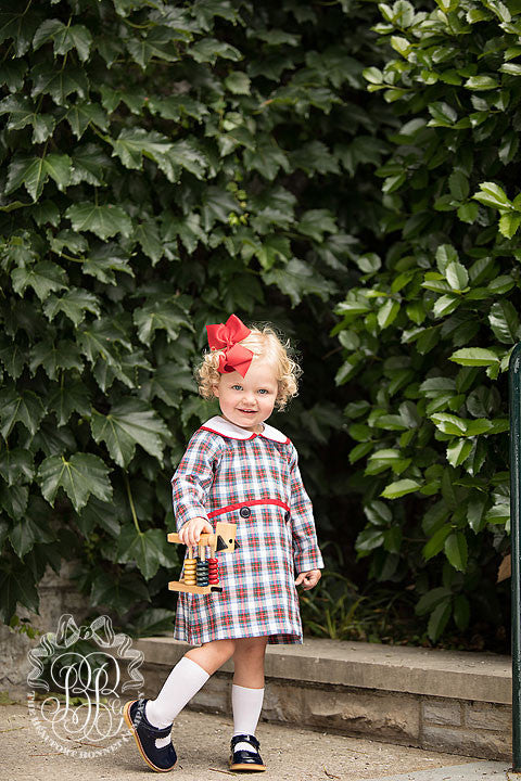 Lindy's Lunch Dress - Tillingham Tartan