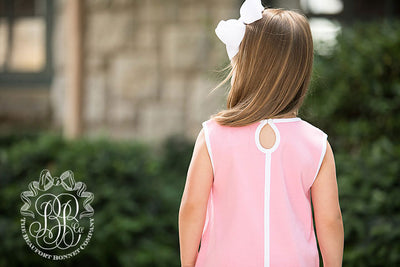 b590bc935 Daisy Dress - Hamptons Hot Pink with Worth Avenue White - The ...