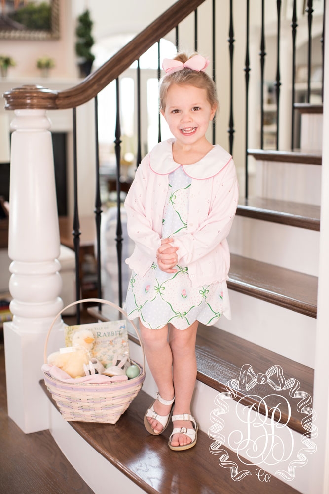 Luanne's Lunch Dress - Pashley Manor Petal with Worth Avenue White