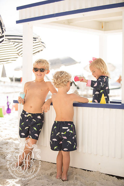 Tortola Swim Trunks - Sunshine on a Rainy Day