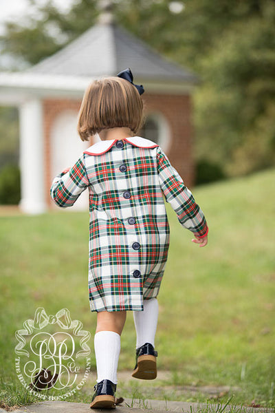 Lindy's Lunch Dress - Aiken Place Plaid