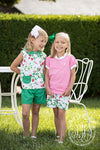 Carlton's Collar Set - Greenwich Garden with Kiawah Kelly Green