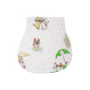 Oopsie Daisy Burp Cloth - Raining Cats & Dogs