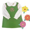 Janie Jumper - Grenada Green Broadcloth