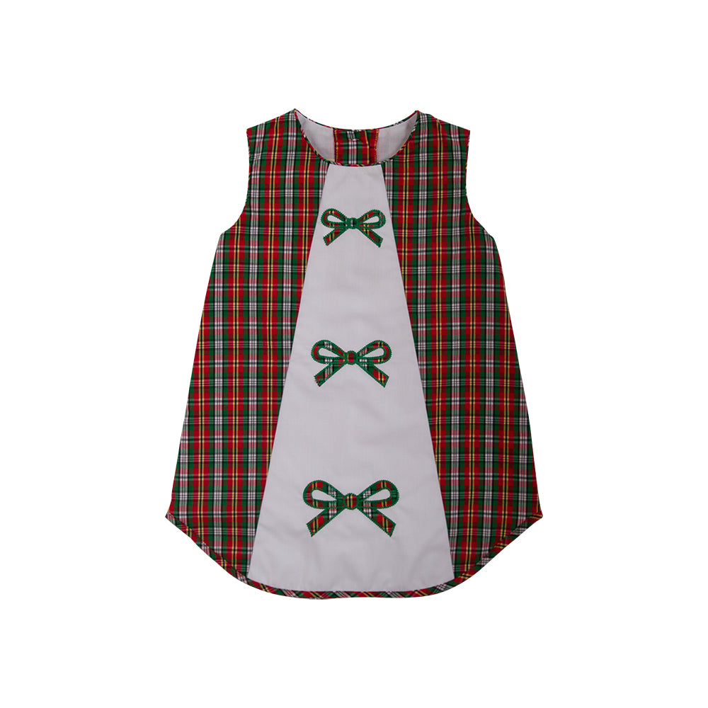 Upscale Clothing And Accessories For Babies Children Mom N Bab Dress Vest Blue Denim Annie Apron Keswick Hall Holiday Plaid With Bow Appliques